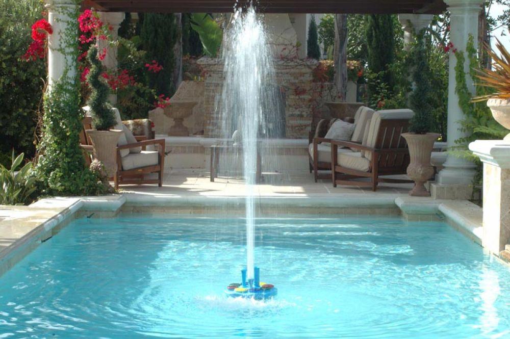 The Toba Legend Pool Fountain | Toba Fountains LLC